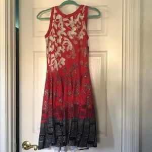 NIC+ZOE Sleeveless Fit & Flare Dress NWT Medium